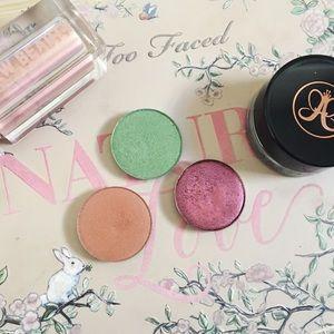 • anastasia + colourpop • single eyeshadow bundle